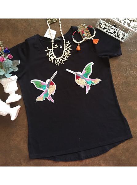 T-shirt Beija Flor